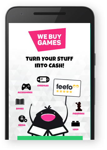 Sell your Stuff for Cash! We Buy Games, Consoles, CDs, DVDs