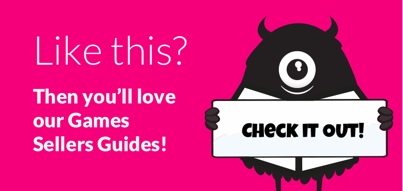 Like this? Then you will love our Games Sellers Guide