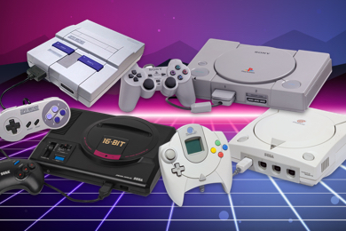 Revealed: Your Favourite Retro Gaming Console
