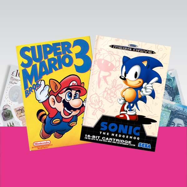 Sell Retro Games and Consoles