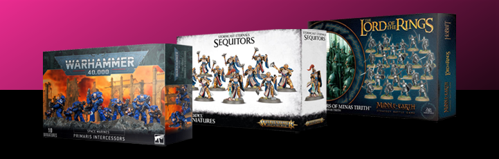 Where can you sell Warhammer?